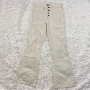 Arizona Jean Company High Waisted White Jeans